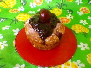 Снимка 2 от рецепта за Кейкчета с вишни
