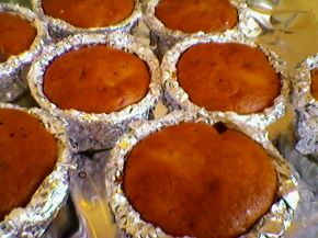 Снимка 6 от рецепта за Кейкчета с вишни