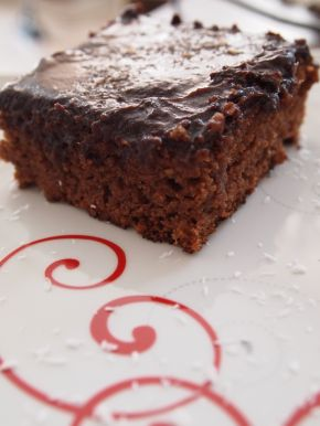 Снимка 1 от рецепта за Шоколадов Фъч