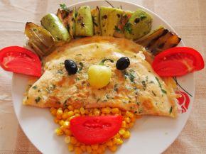 Снимка 1 от рецепта за Весел омлет