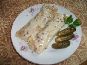 Снимка 1 от рецепта за Катми с плънка от леща запечени във фурна