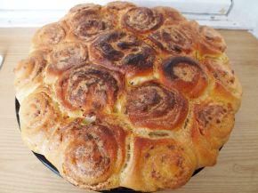 Снимка 1 от рецепта за Пита със сирене