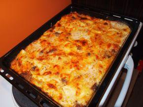 Снимка 1 от рецепта за Лазаня с два вида сос