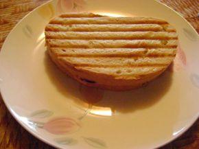 Снимка 1 от рецепта за Ръжен сандвич с мортадела