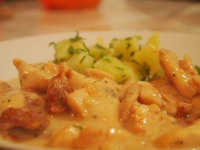 Снимка 1 от рецепта за Пиле с манатарки