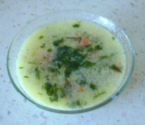 Снимка 1 от рецепта за Агнешка супа с девисил
