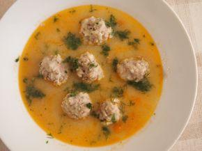 Снимка 1 от рецепта за Супа топчета с картофи
