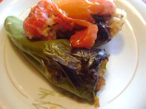 Снимка 1 от рецепта за Пълнени чушки с ориз