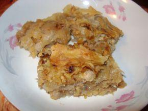 Снимка 1 от рецепта за Щрудел с домашно точени кори