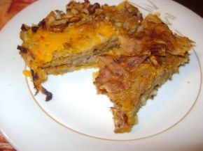 Снимка 1 от рецепта за Тиквеник с домашно точени кори