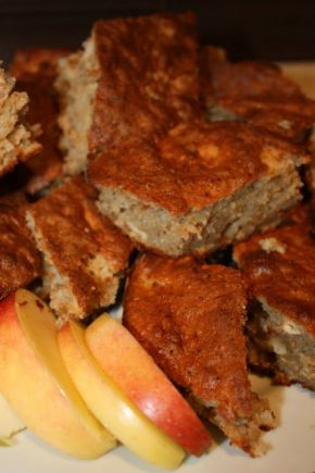 Снимка 1 от рецепта за Сладкиш с ябълки
