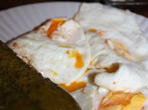 Снимка 1 от рецепта за Яйца на очи