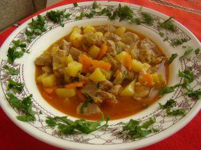 Снимка 1 от рецепта за Свинска яхния със зеленчуци