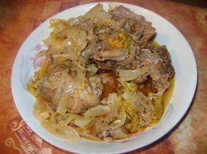 Снимка 1 от рецепта за Свинско със зелев сок