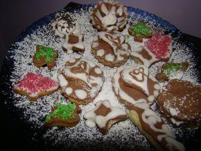 Снимка 1 от рецепта за Коледни сладки със захарна глазура
