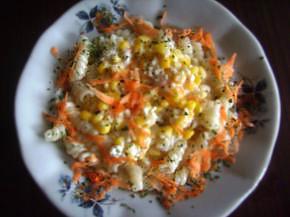 Снимка 1 от рецепта за Фусили с царевица