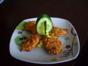 Снимка 1 от рецепта за Пилешки хапки