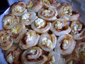 Снимка 1 от рецепта за Пита от бутер тесто
