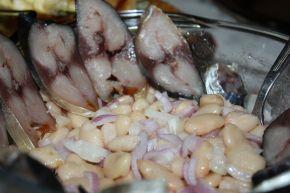 Снимка 1 от рецепта за Варен боб с риба