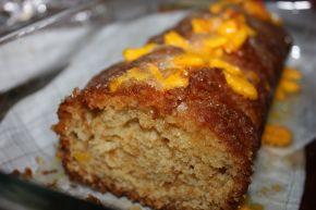 Снимка 1 от рецепта за Летен кекс с плодове (праскови)
