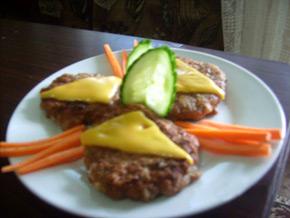 Снимка 1 от рецепта за Кюфтета с топено сирене