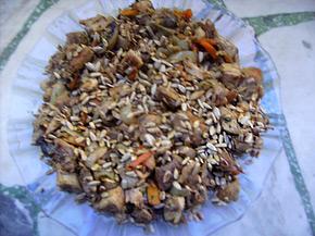 Снимка 1 от рецепта за Пиле със семки
