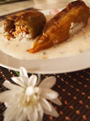 Снимка 1 от рецепта за Млечен сос за пълнени чушки