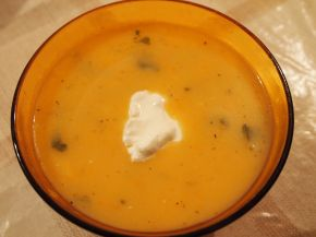 Снимка 1 от рецепта за Картофена крем супа