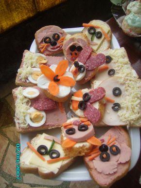Снимка 1 от рецепта за Детски парти сандвичи