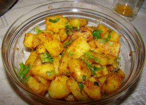 Снимка 1 от рецепта за Картофи соте с копър и чесън