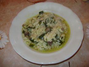 Снимка 1 от рецепта за Пилешко с ориз и зелен лук
