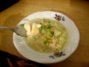 Снимка 1 от рецепта за Китайска пилешка супа с царевица