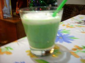 Снимка 1 от рецепта за Млечен ментов шейк