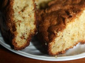 Снимка 1 от рецепта за Сладкиш с ябълки и грис