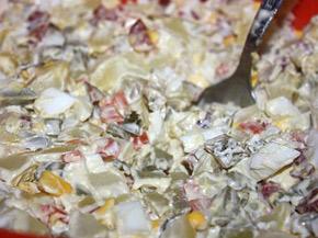 Снимка 1 от рецепта за Домашна руска салата