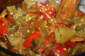 Снимка 1 от рецепта за Салата от печени чушки