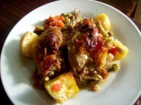 Снимка 1 от рецепта за Пилешки гювеч