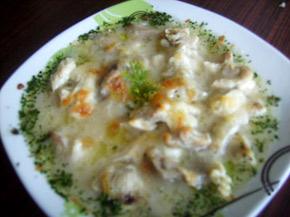 Снимка 1 от рецепта за Пиле със сос бешамел