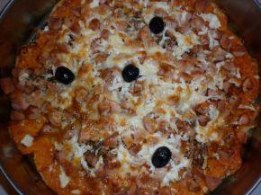Снимка 1 от рецепта за Пица от стар хляб