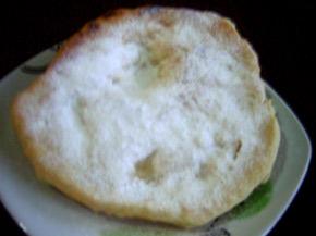 Снимка 1 от рецепта за Пухкави мекици с пудра захар