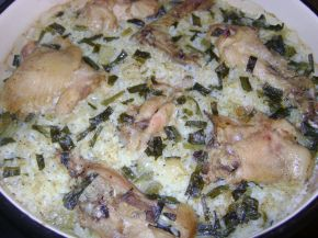 Снимка 1 от рецепта за Пиле с ориз на фурна