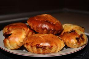 Снимка 1 от рецепта за Мъфини със сладко от ягоди