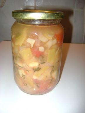 Снимка 1 от рецепта за Зеленчукова супа - консерва