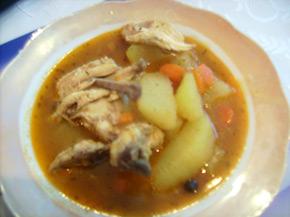 Снимка 1 от рецепта за Пилешка яхния