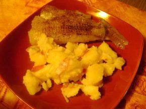 Снимка 1 от рецепта за Филе от треска на фурна