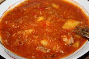 Снимка 1 от рецепта за Манджа с картофи и месо