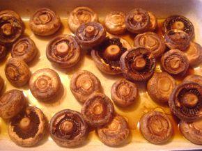 Снимка 1 от рецепта за Печурки с масло на фурна