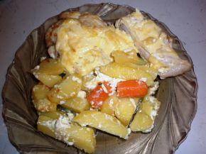 Снимка 1 от рецепта за Пиле с майонеза