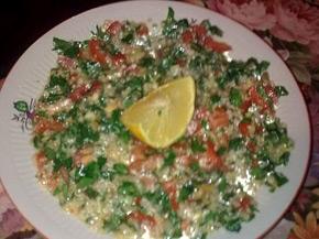 Снимка 1 от рецепта за Ливанска салата `Табуле`