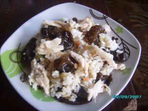 Снимка 1 от рецепта за Пилешко с ориз и китайски гъби